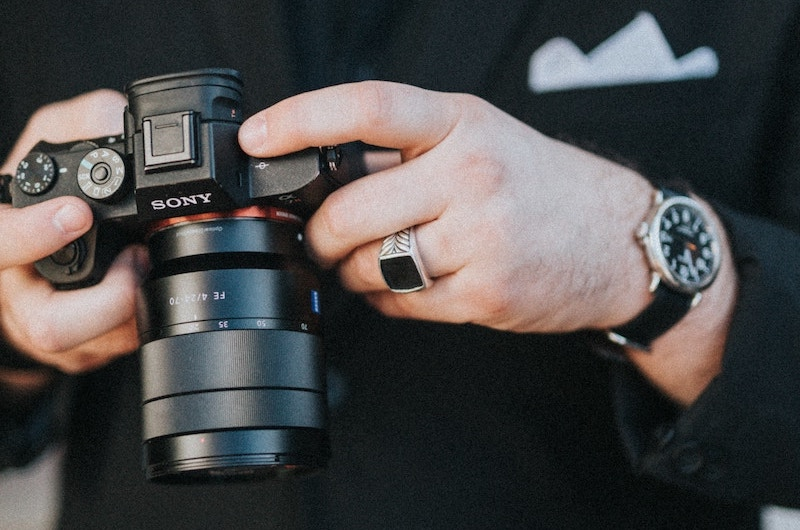 Sony Full Frame Camera & Lens