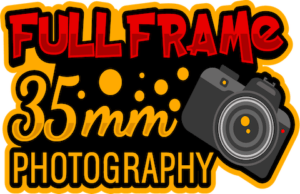 Full Frame 35mm Photography Logo